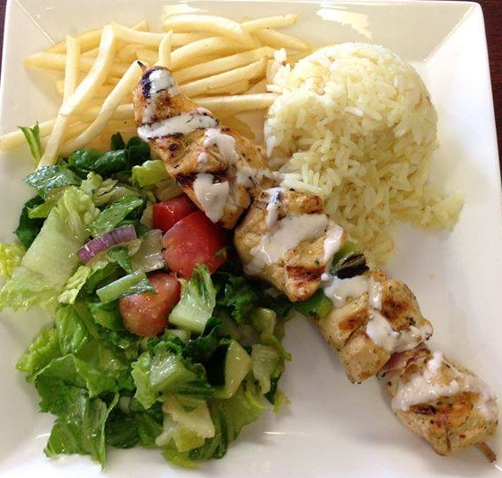 Gow Grilled Chicken Rice Plate Best Food Trucks Bay Area