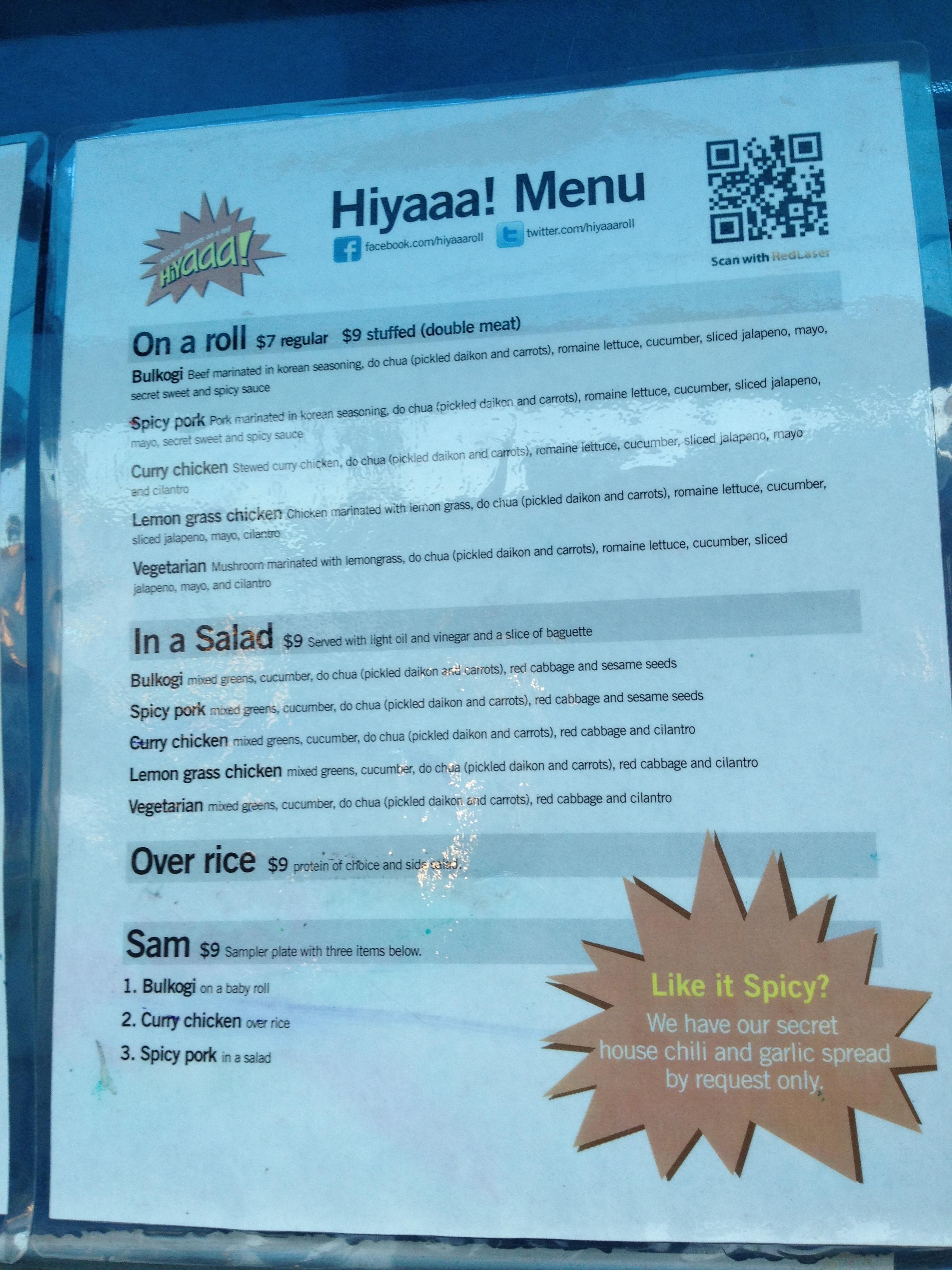 Hiyaaa Food Truck Twitter