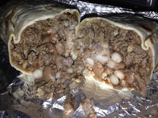 Taqueria Angelica's burrito