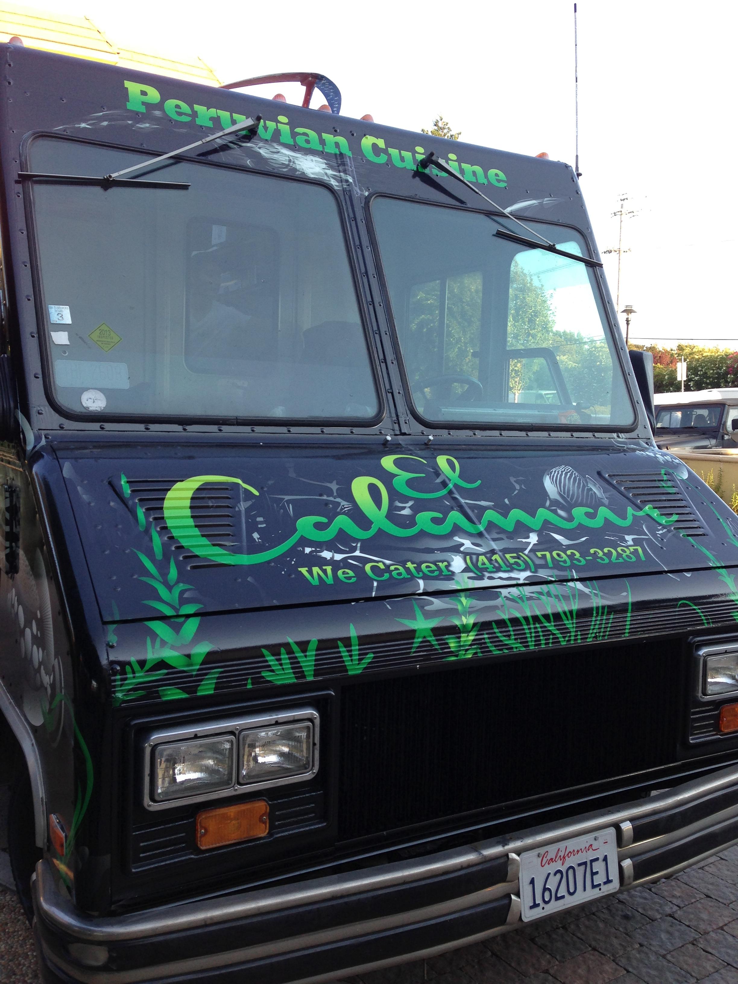 El Calamar Food Truck Menu