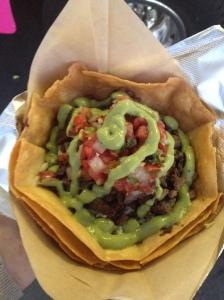 Twister Burrito Cone