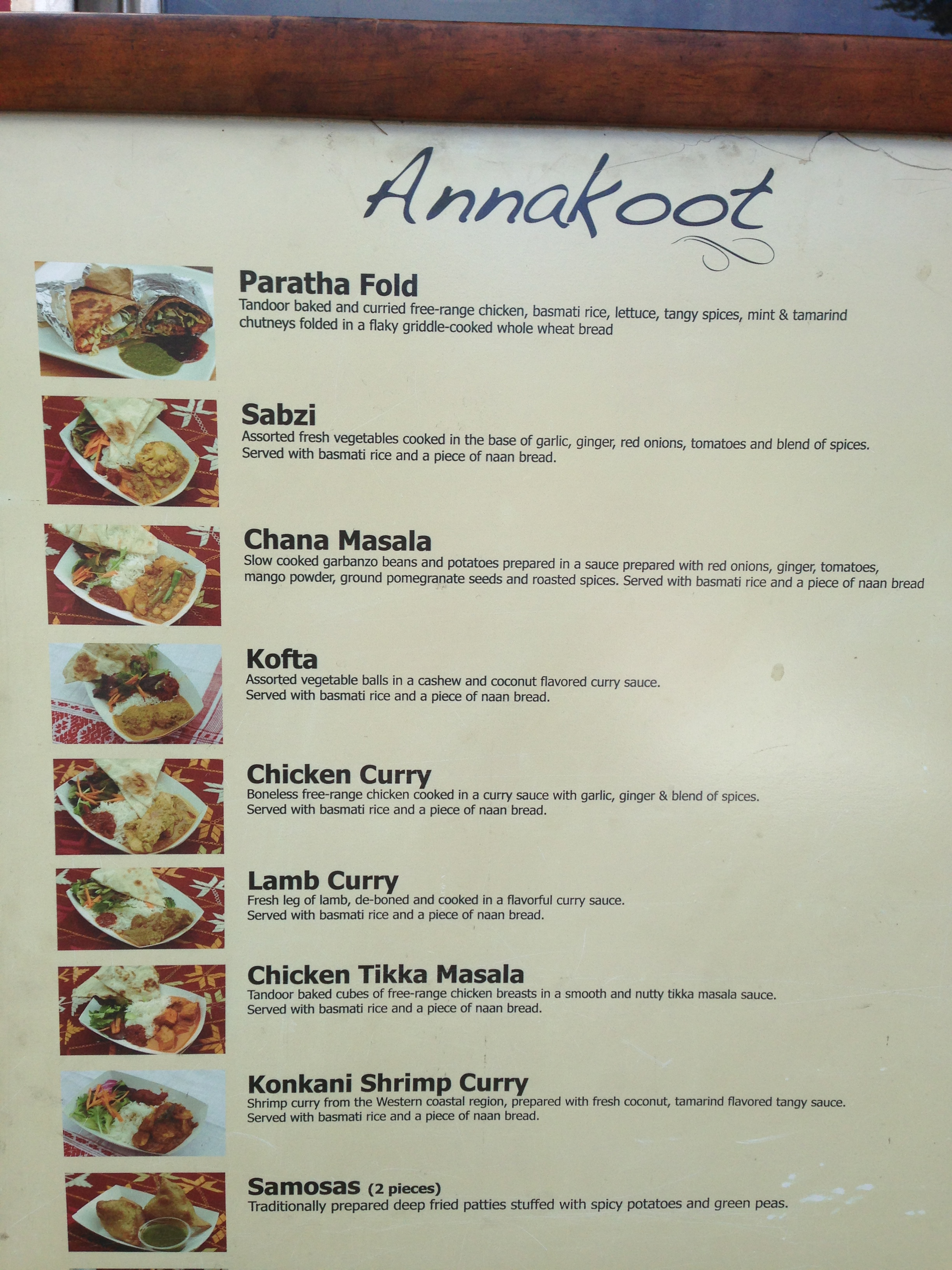 annakoot menu best food trucks bay area