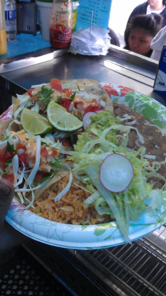Madd mex cantina best food trucks bay area for Baja fish tacos menu