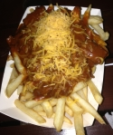 Smokin Warehouse chili fries