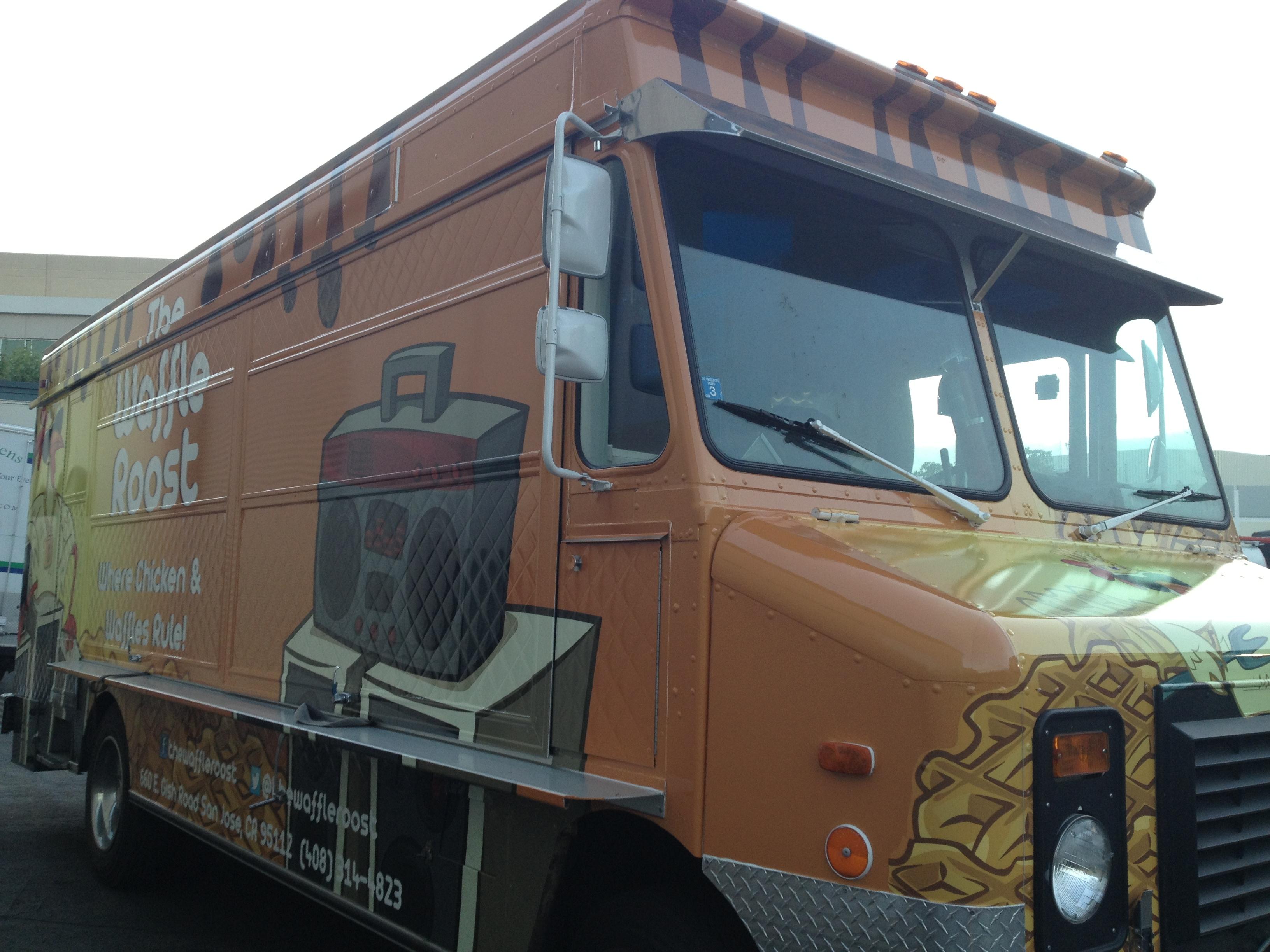 Waffle Roost Food Truck Menu
