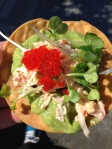 We Sushi lobster taco