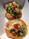 We Sushi lobster tacos