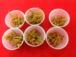 Carrott Burdock Root Salad Samples