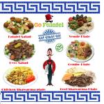 Go Falafel menu