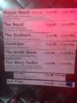 Smothered menu
