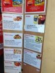 peruchi menu