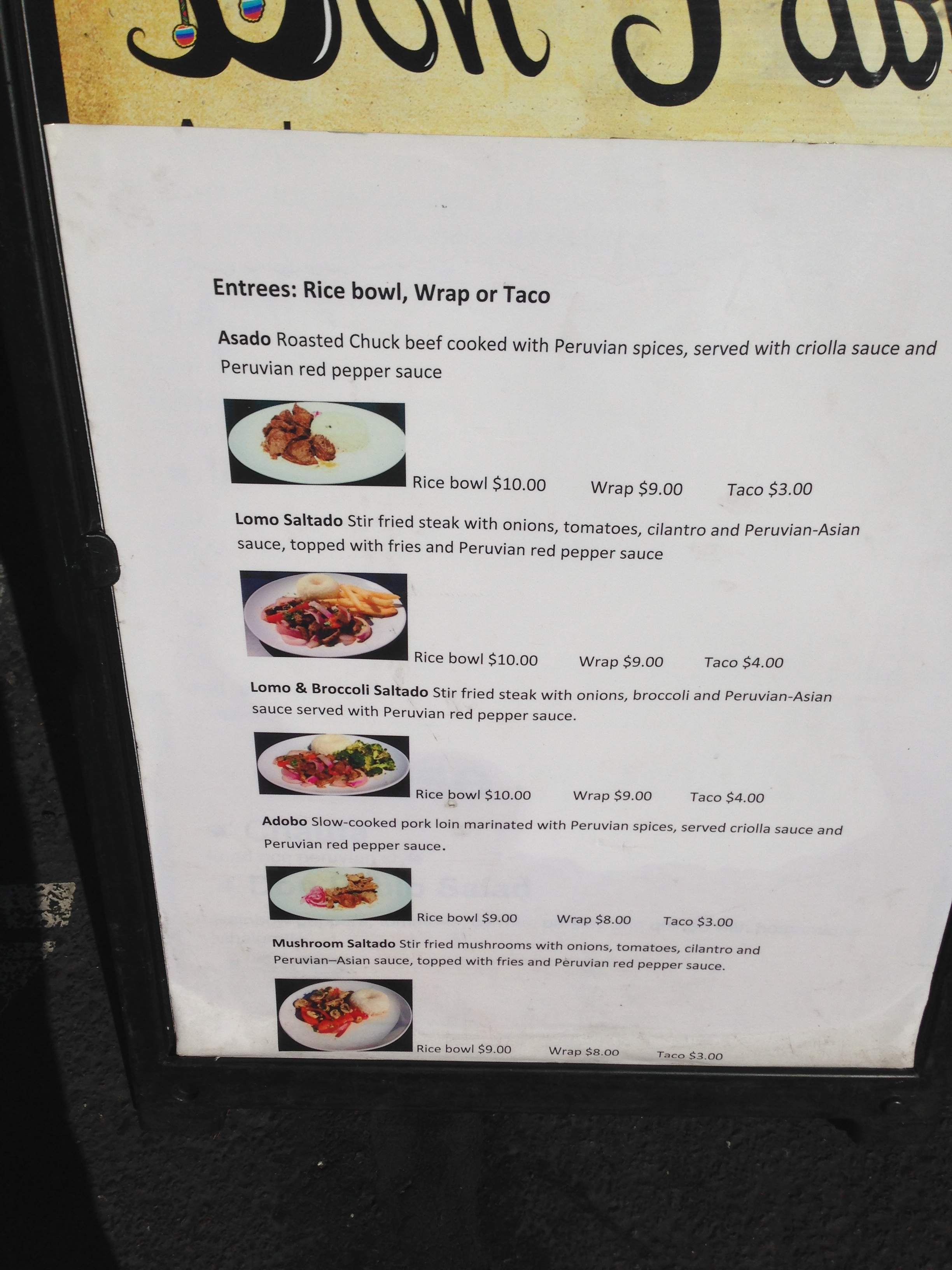 don pablo menu best food trucks bay area