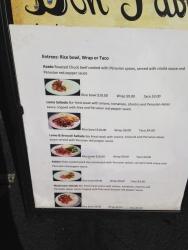 Don Pablo menu