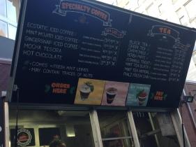 Philz menu