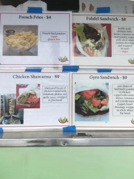 Falafel Fresh menu 2